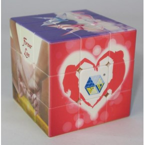 Yuxin Love Treasure Cube 3x3