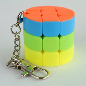 Llavero Cubo de Rubik 3x3 Mini Barrel