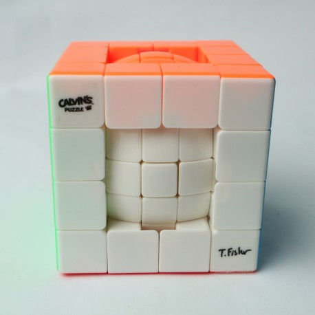 Calvin Tony Ball in a Cube