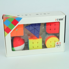 Set de Llaveros Zcube Mini